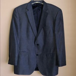 Hugo Boss Men's checked Blazer 40S
